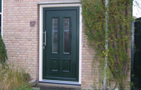 kunststof voordeuren bieden geluidswering en Warmte en kou isolatie