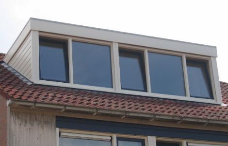 Kunststof kozijnen keralit gevelbekleding dakkapel