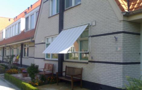 Uitzonderlijk Zonweringen, uitvalscherm uitvalschermen Carre 95 zonneschermen KS09